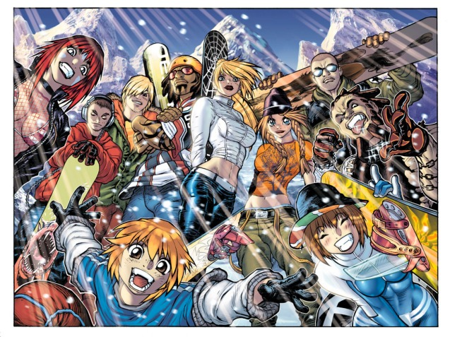 SSX3_Big_Group_Shot_illo_by_AdamWarren