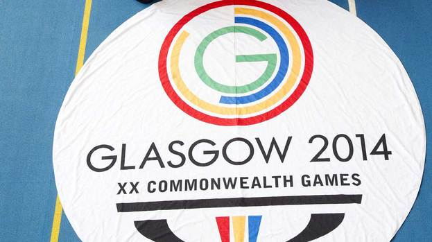 131122-generic-image-of-the-commonwealth-games-glasgow-2014-flag-and-logo