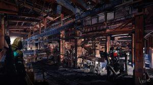 KeOSz Concept Art Warehouse