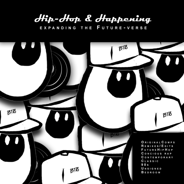 Hip-Hop & Happening: expanding the Future-Verse Cover Art